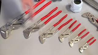 Обзор Трубные переставные ключи Knipex