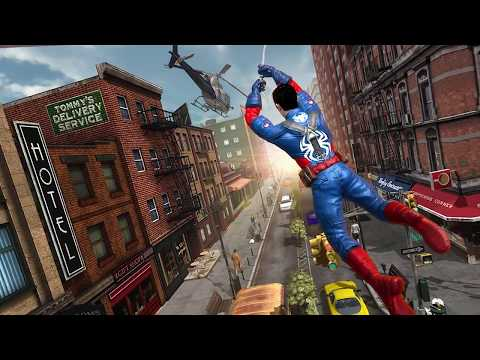 Spider Hero Wings : City Terror Strike - Android Gameplay HD