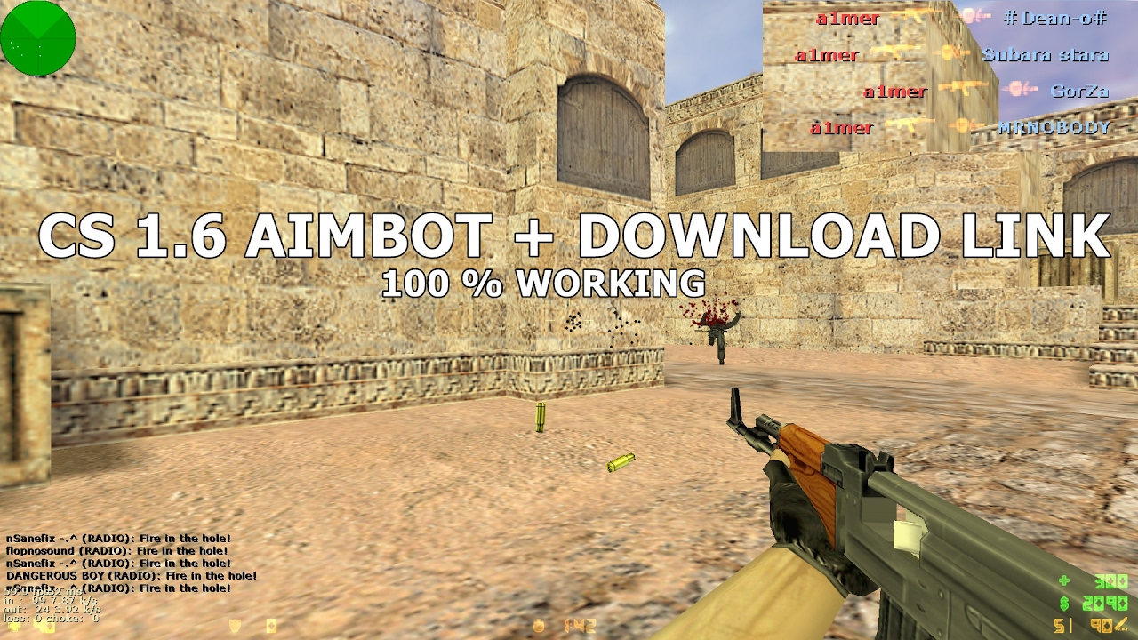 2019 Cs 1 6 Warzone Aimbot Download Link 100 Working Youtube