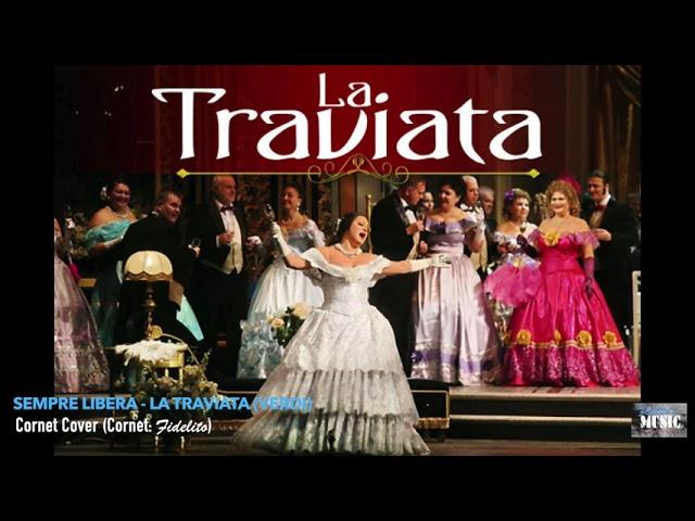 Sempre Libera - La Traviata (Verdi) - Cornet Cover