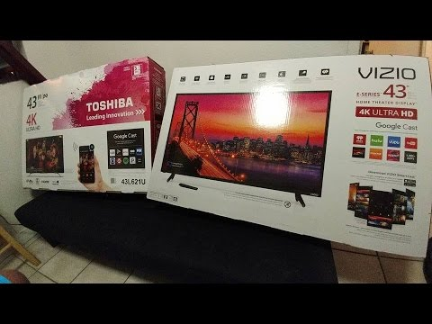 vizio tv 43 inch. should you buy a budget 4k tv? dis or dat: toshiba 43\ vizio tv 43 inch