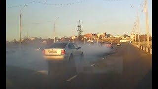 Дымовая шашка на колесах!!! ЖЕСТЬ Старый Оскол