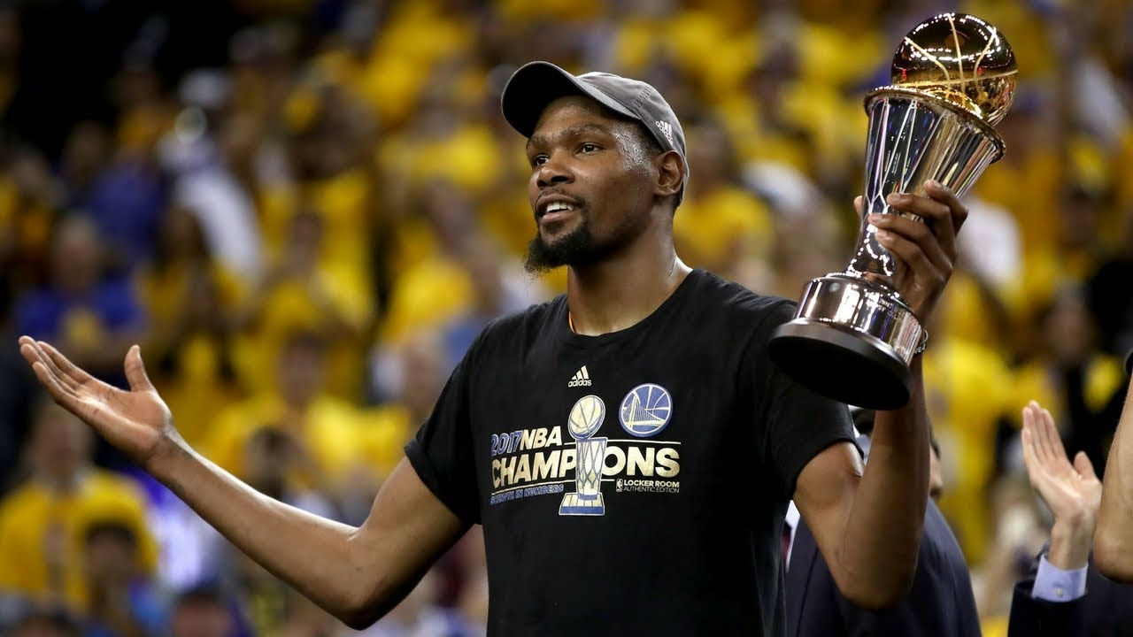 2017 Finals MVP Kevin Durant's Game 5 Heard Around the World - YouTube