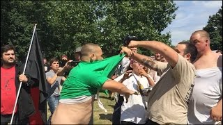 White Lives Matter rally decimated by Buffalo anti protesters