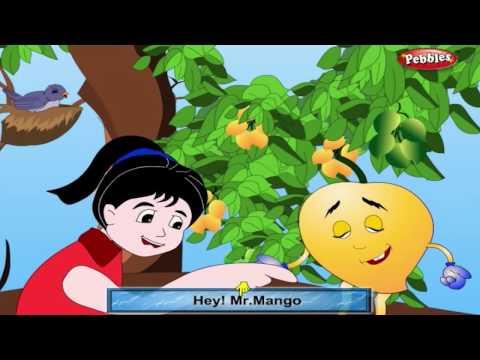 Mango Rhyme Fruit | Fruit Rhymes for Children | Nursery Rhymes for Kids | Most Popular Rhymes HD