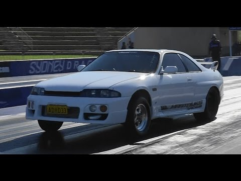 FASTEST H PATTERN SKYLINE IN AUSTRALIA MAATOUKS RACING 8.89 @ 159 MPH