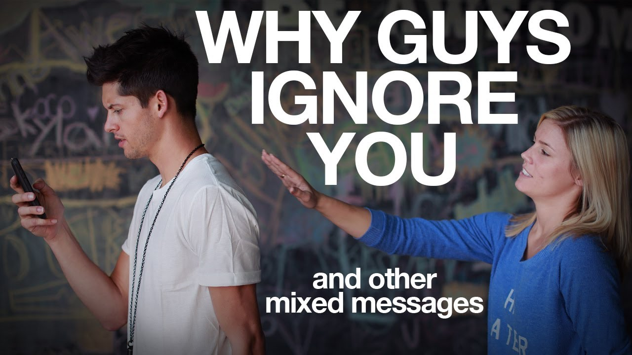 You Suddenly A Ignores When Guy