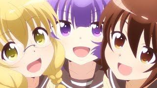 TVアニメ『三者三葉』OPテーマ「クローバー♣かくめーしょん」ノンクレジット映像 thumbnail
