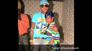 Vybz Kartel & Gaza Slim - Stop Gwan Like Yuh Tuff - December 2012