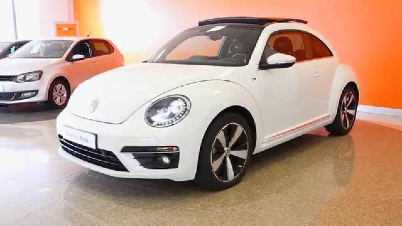 volkswagen coccinelle occasion 2 0 tdi 140 fap sport dsg 6 blanc candy toit noir youtube. Black Bedroom Furniture Sets. Home Design Ideas