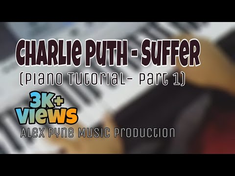 charlie puth eyebrow tutorial. charlie puth suffer piano eyebrow tutorial