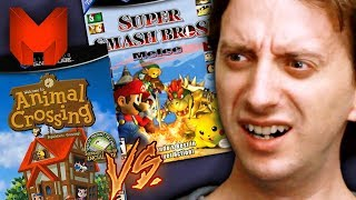The BEST GameCube Games? Super Smash Bros Melee vs Animal Crossing - Madness