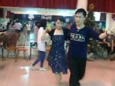 HỌC NHẢY DANCESPORT CƠ BẢN CLIP nhảy SAMBA tại IDC club 3-5-CN hàng tuần