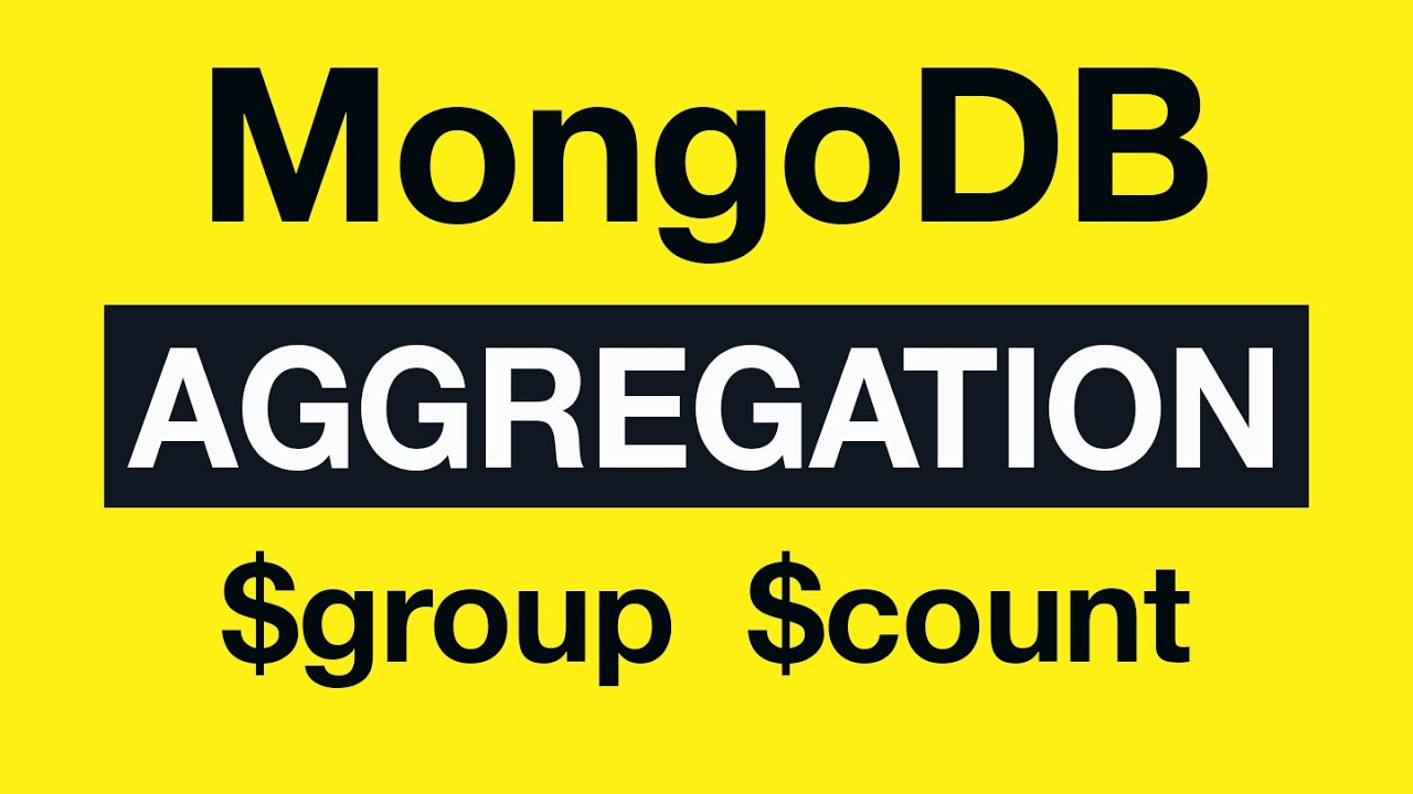 19 Aggregation Example 9 $group and $count - MongoDB Aggregation Tutorial