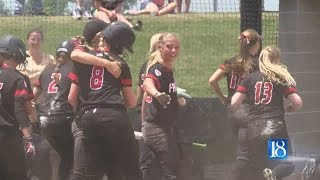 Frontier softball beats Pioneer, Tri for semistate title