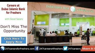 Apply at Dubai Islamic Bank Careers in UAE 2018 (Step by Step Guide)