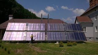 Если солнечный коллектор и тепловой насос связать (Разновидности 8-го типа 100%солнечного отопления