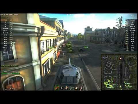 World of Tanks - Tiger 2 gameplay (German steel)