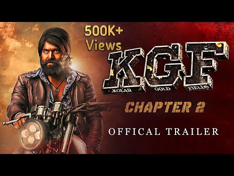 Kgf Chapter 2 Trailer Telugu Yash Srinidhi Prashanth Neel Humble Films Youtube