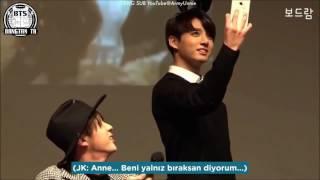 Türkçe Altyazılı 160102 Anne Seokjin Jungkooku Anlatıyor