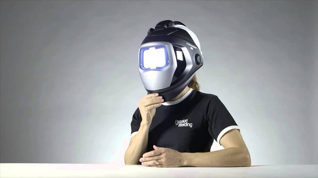 Welding Helmet 9100 QR with Hard Hat 3M Presentation - YouTube