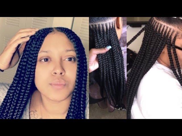 3 Layer Feedin Braids Youtube
