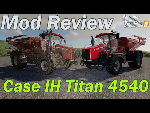 Mod Review - Case IH Titan 4540