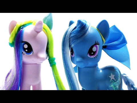 Прически Пони Хаирстайлинг Выпуск №17 Как сделать прическу для пони