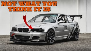This Ultimate BMW E46 Race Car is Hiding A SECRET No One Would Ever Guess | Timeless Builds