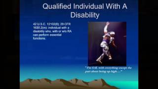Case Law Update and Practical Discussion on Disability Law and Reasonable Accommodation