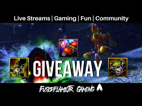 Guild Wars 2 GIVEAWAY Halloween Weapon Skins and Infusion!! thumbnail