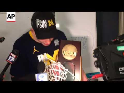 Moe Wagner Cuts Net For Michigan