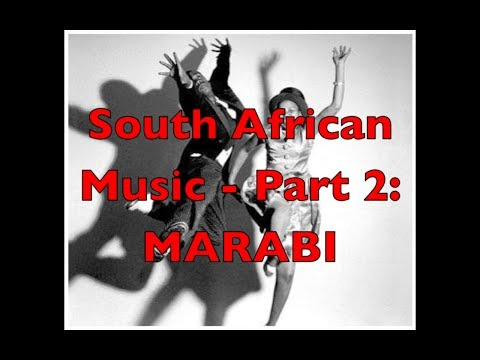 South African Music - Part 2: Marabi