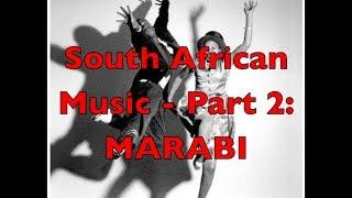 South African Music - Part 2: Marabi