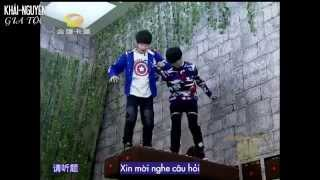 [Vietsub Show] Khải-Nguyên (KaiYuan - 凯源) @ 150214 Crazy Magic (Cut)