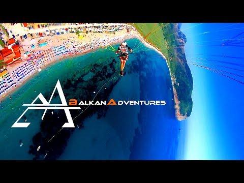 BalkanAdventure Part 4 ¦ Albania and Montenegro ¦ Paragliding ¦ Cannyoning ¦ Exploring