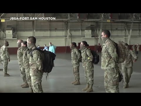 Video: More Than 150 Basic Training Graduates Arrive At JBSA- Fort Sam Houston