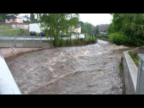 Unwetter im Vogtlandkreis  31.05.2013
