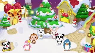 ♬Jingle bell | クリスマスソング | メリークリスマス | 赤ちゃんが喜ぶ英語の歌 | 子供の歌 | 童謡  | アニメ | 動画 | BabyBus