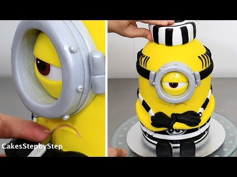 Save How To Make a MINION CAKE by Cakes StepbyStep Snapshots