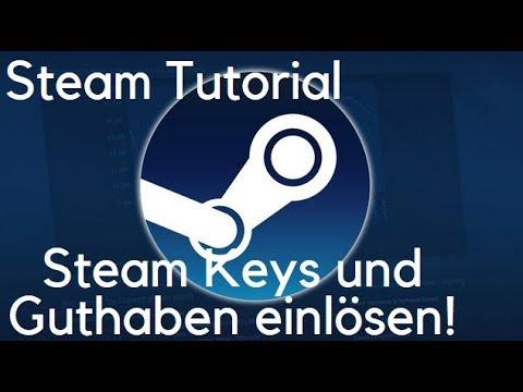 Steam Tutorial Steam Keys Und Gutscheine Einfach Einlösen! Deutsch/German