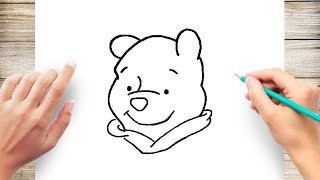 How to Draw Winnie the Pooh Step by Step for Kids