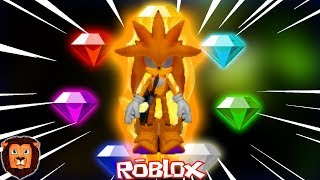 ALL THE ESMERALDAS OF THE CHAOS IN ROBLOX *MUCH MIEDO* 😱😰 . . . . . . . . . . . . . . . . . . . . . . . . . . . . . . . . . . SONIC SERIES. EXE IN ROBLOX LEON PICARON