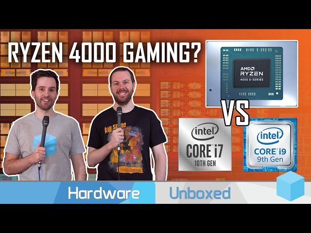 Will Ryzen Mobile 4000 Beat Intel in Gaming? Discussion With Jarrod'sTech