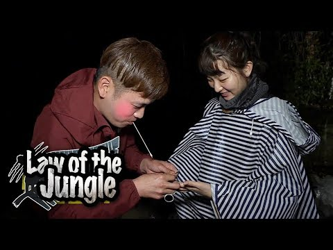 Seul Gi Caught a Crab! But It Pinched Her!! Law of the Jungle Ep 321