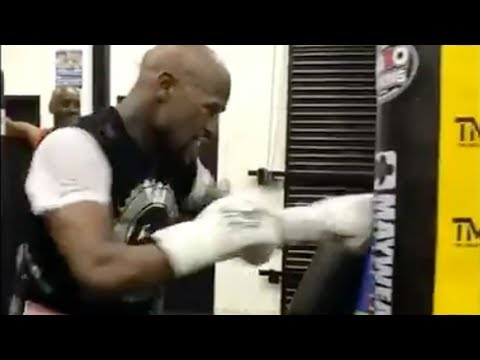 Download Youtube: Floyd Mayweather TRAINING for 51st Fight!?