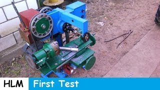 Homemade milling machine part 11