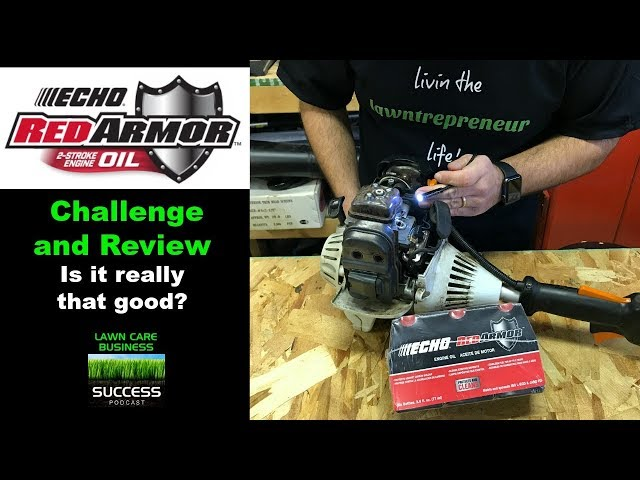Echo red armor two stroke oil challenge and review. Is it really that good?