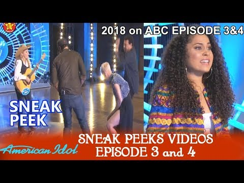 "American Idol 2018 Episode 3 & 4 Sneak Peeks a ""Yodeler"" & ""Commodores Brick House"" March 18 & 19th"