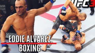 Bob and Weave With Eddie Alvarez! A Boxing Animal - EA Sports UFC 3 Online Gameplay